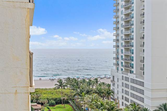 3400 N Ocean Drive #1208, Singer Island, FL 33404 (#RX-10713375) :: Signature International Real Estate