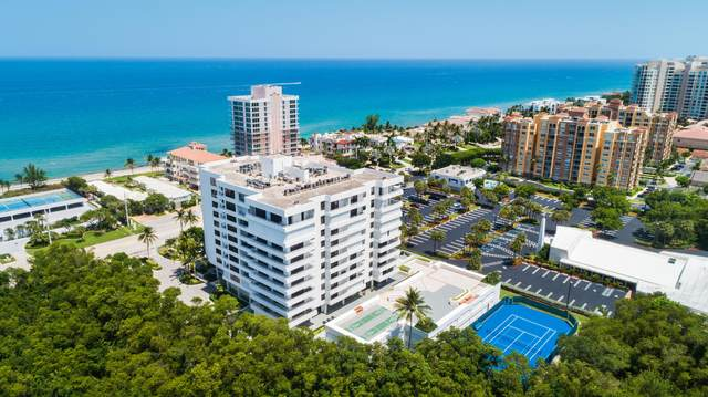 3450 S Ocean Boulevard #605, Highland Beach, FL 33487 (MLS #RX-10713446) :: Berkshire Hathaway HomeServices EWM Realty