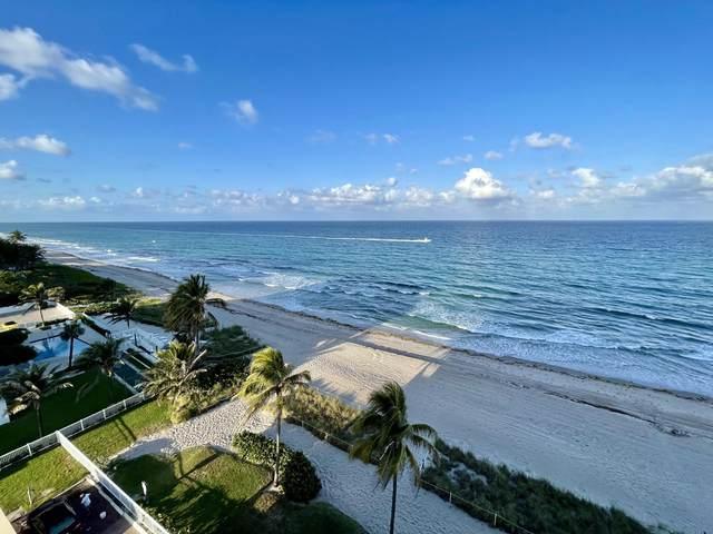 1051 Hillsboro Mile 810E, Hillsboro Beach, FL 33062 (#RX-10713492) :: Baron Real Estate