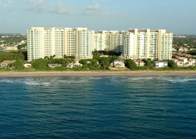 3720 S Ocean Boulevard #410, Highland Beach, FL 33487 (#RX-10713815) :: Posh Properties