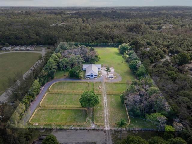 1016 D Road (5 Acres+Barn), Loxahatchee, FL 33470 (#RX-10713828) :: Baron Real Estate