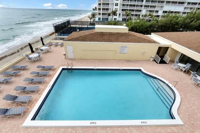 3540 S Ocean Blvd Boulevard #714, South Palm Beach, FL 33480 (MLS #RX-10713853) :: Castelli Real Estate Services
