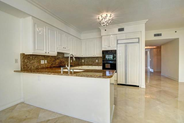 3700 S Ocean Boulevard #309, Highland Beach, FL 33487 (MLS #RX-10713974) :: Berkshire Hathaway HomeServices EWM Realty