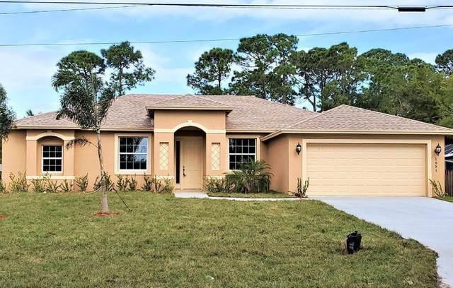 3443 SW Ellis Street, Port Saint Lucie, FL 34953 (#RX-10714070) :: Treasure Property Group