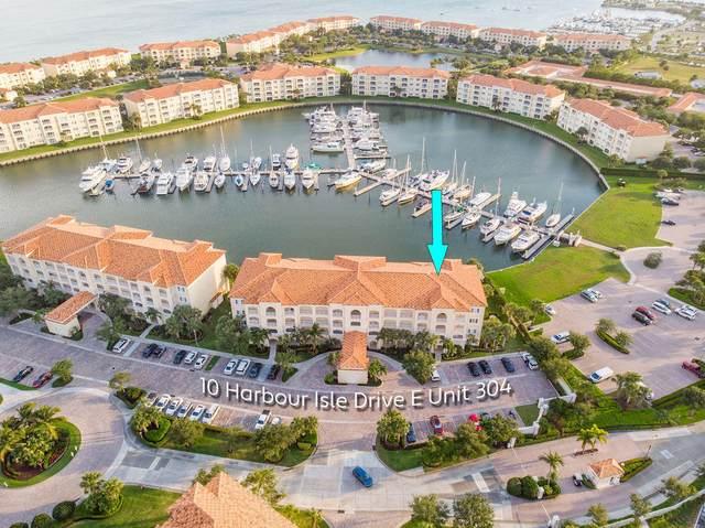10 Harbour Isle Drive E #304, Fort Pierce, FL 34949 (#RX-10714354) :: Real Treasure Coast