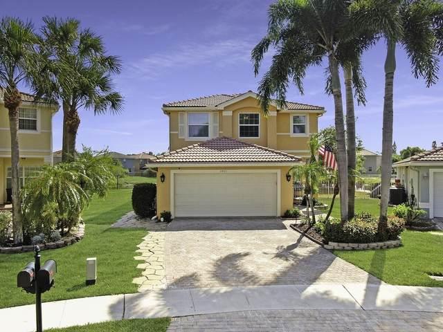 5401 Eastbay Drive, Greenacres, FL 33463 (MLS #RX-10714401) :: Berkshire Hathaway HomeServices EWM Realty