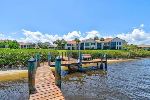 10411 SE Terrapin Place C-108, Tequesta, FL 33469 (#RX-10714429) :: Baron Real Estate
