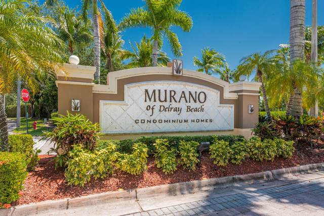 15175 Michelangelo Boulevard #206, Delray Beach, FL 33446 (#RX-10714443) :: Real Treasure Coast