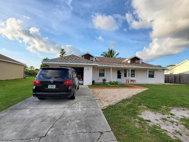 445 SW Cherryhill Road, Port Saint Lucie, FL 34953 (#RX-10714449) :: Real Treasure Coast