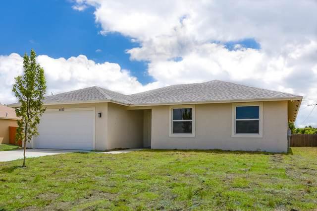 4433 SW Bradbury Street, Port Saint Lucie, FL 34953 (#RX-10714533) :: Baron Real Estate