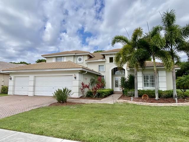 4305 Wellington Shores Drive, Wellington, FL 33449 (#RX-10714601) :: Baron Real Estate