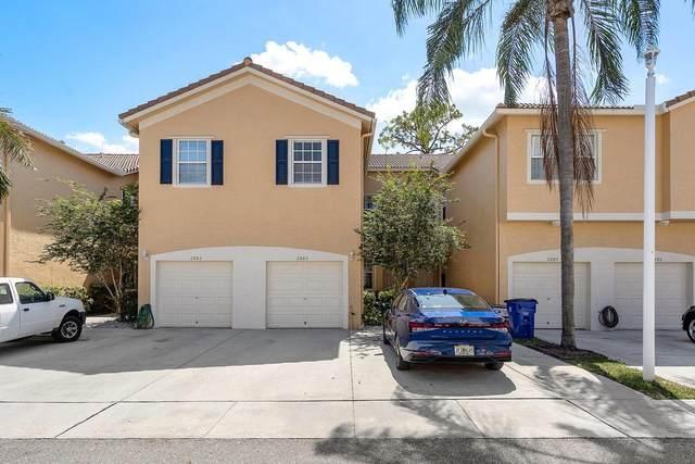 2885 Crestwood Terrace #1104, Margate, FL 33063 (#RX-10714610) :: Dalton Wade