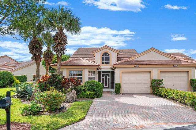 7922 Sandy Pointe Drive, Delray Beach, FL 33446 (MLS #RX-10714657) :: The Jack Coden Group