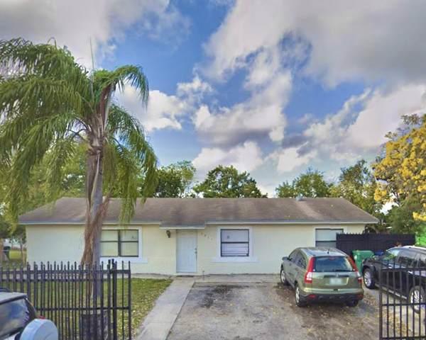 3411 NW 194th Terrace, Miami Gardens, FL 33056 (#RX-10714702) :: Heather Towe   Keller Williams Jupiter