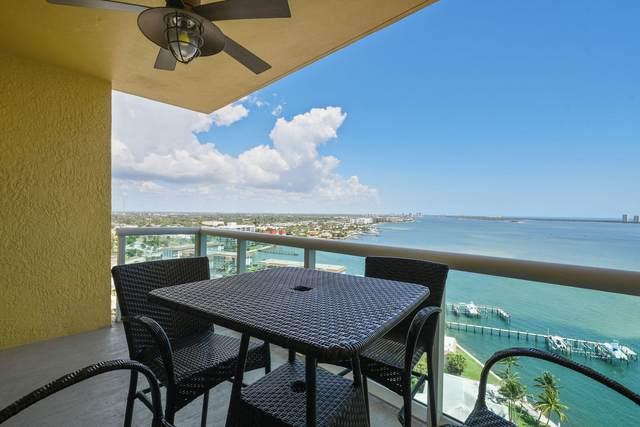 2650 Lake Shore Drive #1703, Riviera Beach, FL 33404 (#RX-10714826) :: Signature International Real Estate
