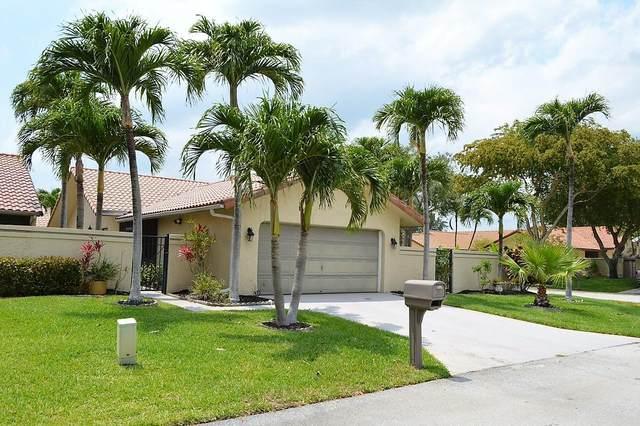 2050 NW 18th Street, Delray Beach, FL 33445 (MLS #RX-10715021) :: Berkshire Hathaway HomeServices EWM Realty