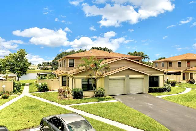 4443 Willow Pond Road A, West Palm Beach, FL 33417 (MLS #RX-10715038) :: Berkshire Hathaway HomeServices EWM Realty