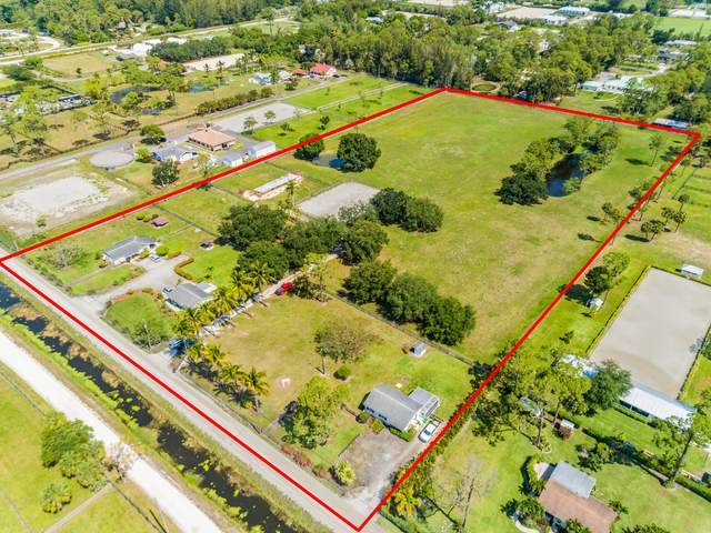 13291 Collecting Canal Road, Loxahatchee Groves, FL 33470 (MLS #RX-10715039) :: Berkshire Hathaway HomeServices EWM Realty
