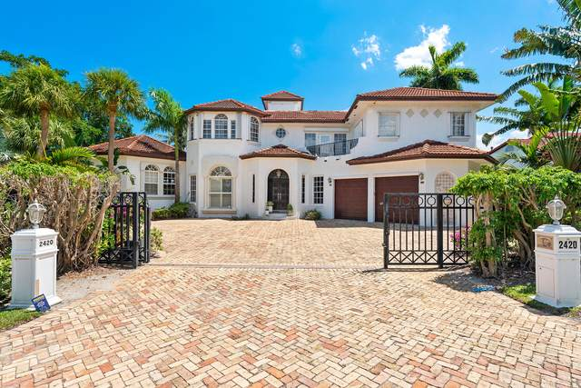 2420 Sea Island Drive, Fort Lauderdale, FL 33301 (MLS #RX-10715071) :: Berkshire Hathaway HomeServices EWM Realty