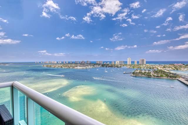 2640 Lake Shore Drive #2509, Riviera Beach, FL 33404 (MLS #RX-10715103) :: Berkshire Hathaway HomeServices EWM Realty