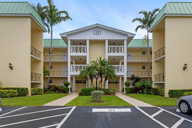 15 Colonial Club Drive #100, Boynton Beach, FL 33435 (#RX-10715124) :: Signature International Real Estate