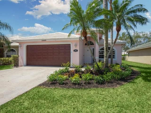 2489 Country Golf Drive, Wellington, FL 33414 (#RX-10715202) :: Posh Properties