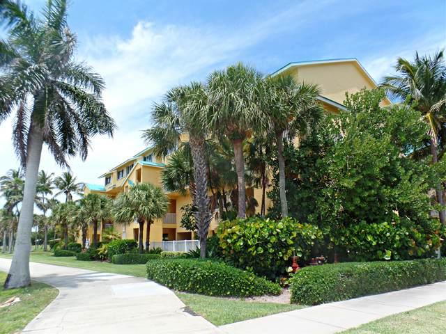 1550 S Ocean Drive B-9, Fort Pierce, FL 34949 (MLS #RX-10715325) :: Castelli Real Estate Services
