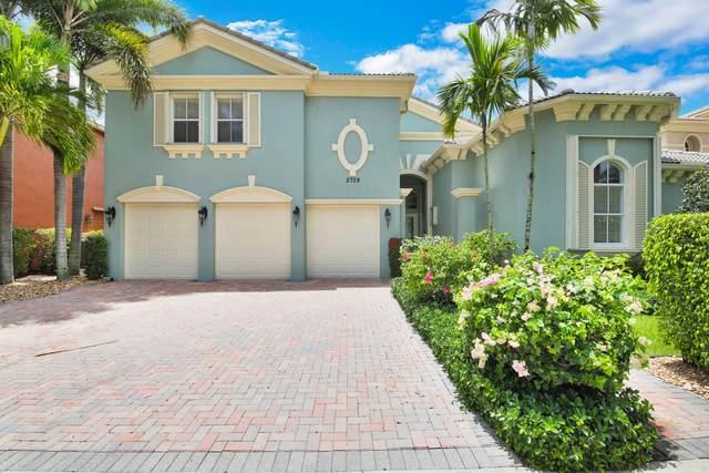 2709 Treanor Terrace, Wellington, FL 33414 (#RX-10715365) :: Michael Kaufman Real Estate