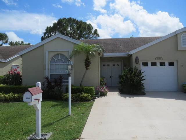 3535 Mill Brook Way Circle, Greenacres, FL 33463 (MLS #RX-10715383) :: Berkshire Hathaway HomeServices EWM Realty