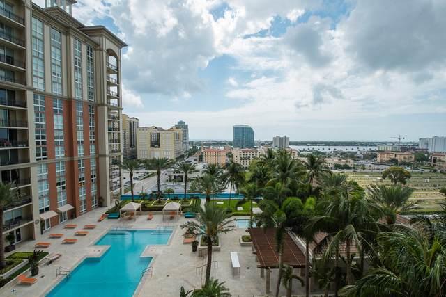 550 Okeechobee Boulevard #1517, West Palm Beach, FL 33401 (#RX-10715552) :: Baron Real Estate
