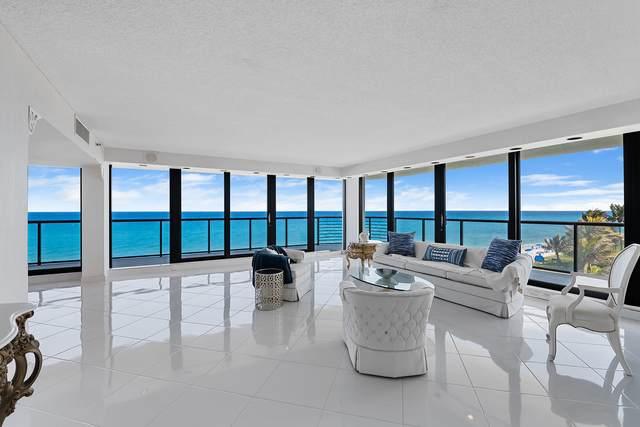 2727 S Ocean Boulevard Apt 603, Highland Beach, FL 33487 (#RX-10715782) :: Posh Properties