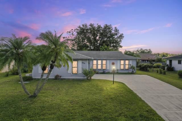 1931 SW Sylvester Lane, Port Saint Lucie, FL 34984 (#RX-10715810) :: Treasure Property Group