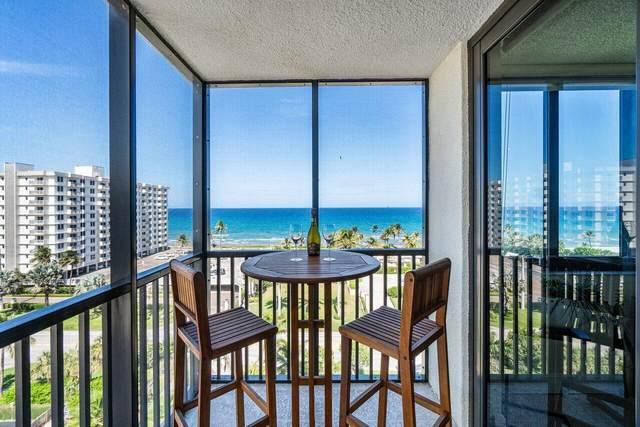 3400 S Ocean Boulevard 9G, Highland Beach, FL 33487 (#RX-10715868) :: Posh Properties