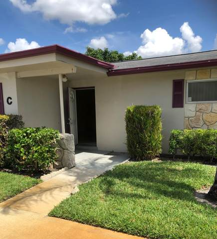 2611 Barkley Drive W C, West Palm Beach, FL 33415 (MLS #RX-10715923) :: Miami Villa Group