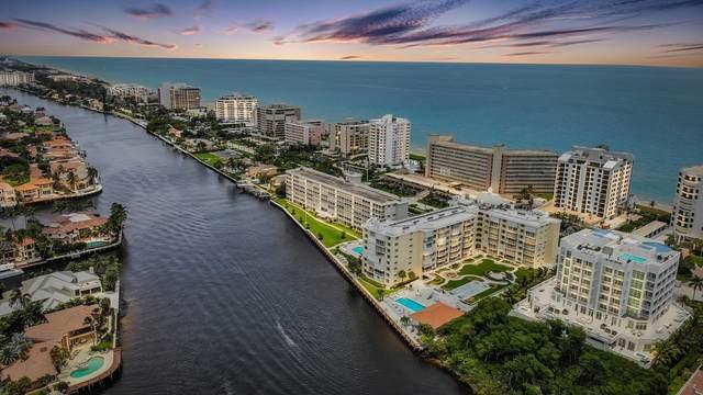3114 S Ocean Boulevard #208, Highland Beach, FL 33487 (#RX-10715926) :: Posh Properties