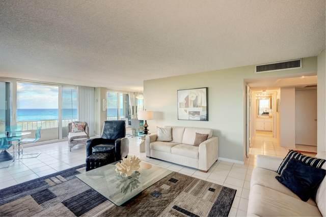 5550 N Ocean Drive 4 C, Singer Island, FL 33404 (#RX-10716012) :: Signature International Real Estate