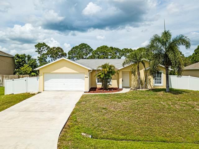 3586 SW Pisano Street, Port Saint Lucie, FL 34953 (#RX-10716030) :: Michael Kaufman Real Estate