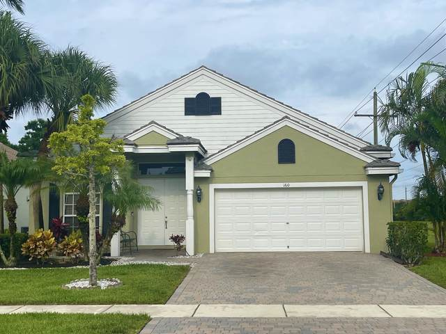160 Kensington Way, Royal Palm Beach, FL 33414 (MLS #RX-10716049) :: Castelli Real Estate Services