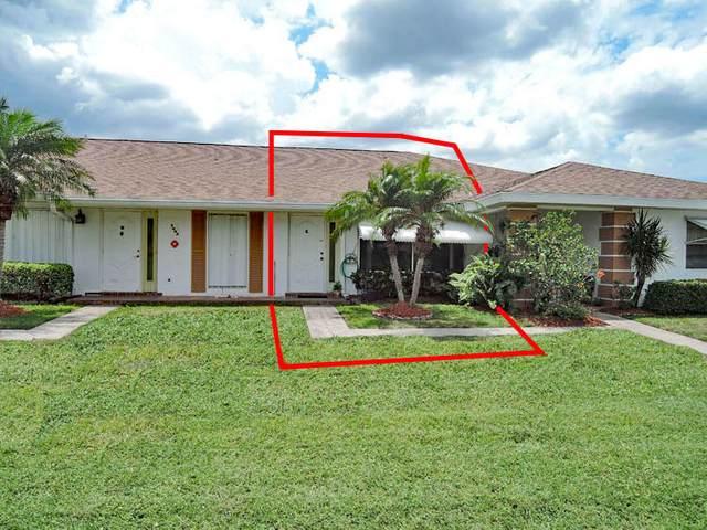 1003 Pheasant Run Drive Apt C, Fort Pierce, FL 34982 (#RX-10716073) :: Signature International Real Estate