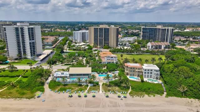 4748 S Ocean Boulevard #806, Highland Beach, FL 33487 (#RX-10716155) :: Signature International Real Estate
