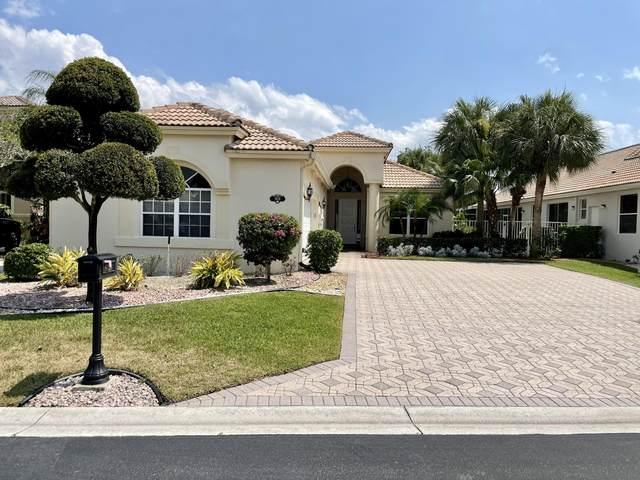 9128 Long Lake Palm Drive, Boca Raton, FL 33496 (#RX-10716170) :: Michael Kaufman Real Estate