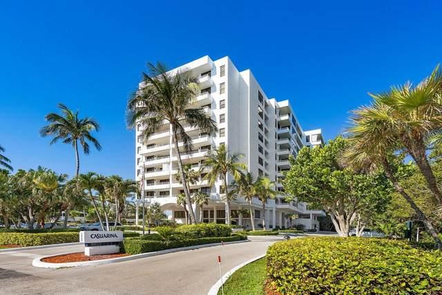 3450 S Ocean Boulevard #505, Highland Beach, FL 33487 (#RX-10716214) :: Posh Properties