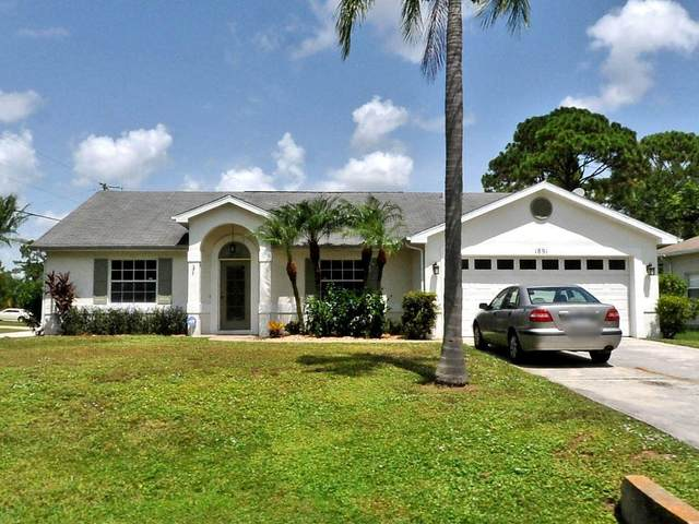 1891 SW Grant Avenue, Port Saint Lucie, FL 34953 (MLS #RX-10716372) :: Castelli Real Estate Services
