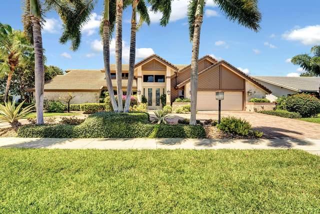 4885 Cherry Laurel Lane, Delray Beach, FL 33445 (#RX-10716375) :: Posh Properties