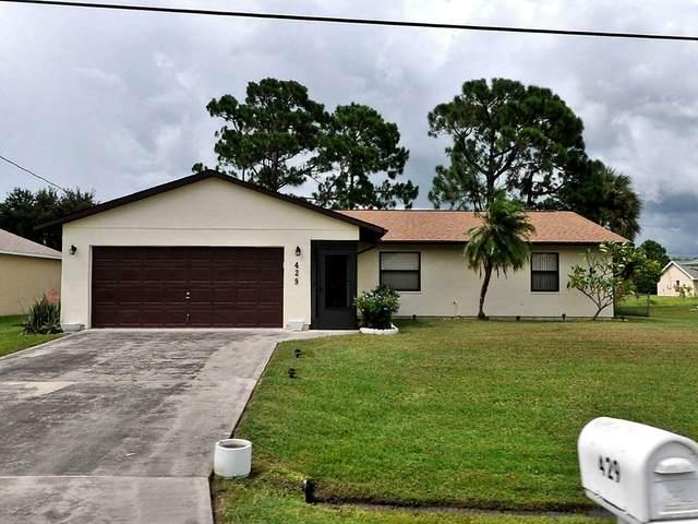 429 SW Duval Avenue, Port Saint Lucie, FL 34983 (#RX-10716464) :: Ryan Jennings Group