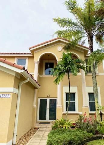 15852 SW 61st Street, Miami, FL 33193 (#RX-10716477) :: Michael Kaufman Real Estate