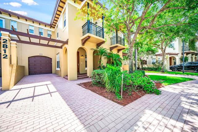 2812 Eagle Rock Circle #2, West Palm Beach, FL 33411 (#RX-10716657) :: DO Homes Group