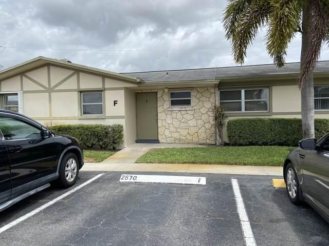 2570 Barkley Drive E F, West Palm Beach, FL 33415 (MLS #RX-10717105) :: Dalton Wade Real Estate Group