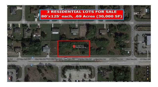 627 NW Prima Vista Boulevard, Port Saint Lucie, FL 34983 (#RX-10717584) :: Michael Kaufman Real Estate