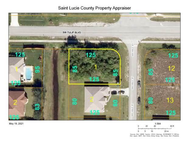 698 SW Tulip Boulevard, Port Saint Lucie, FL 34953 (#RX-10717876) :: Posh Properties
